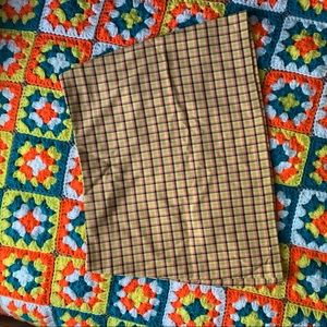 Urban Outfitters Plaid Mini Skirt Size M